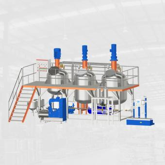 professional Complete Paint Making Production Line